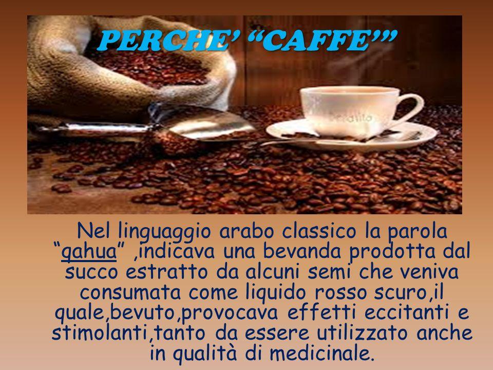 PERCHE' CAFFE'