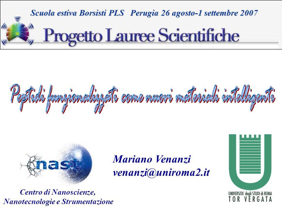 Nanotecnologie e Strumentazione