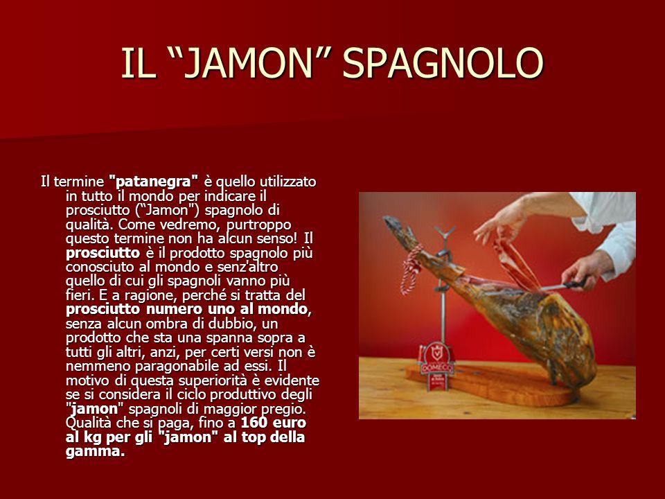 IL JAMON SPAGNOLO