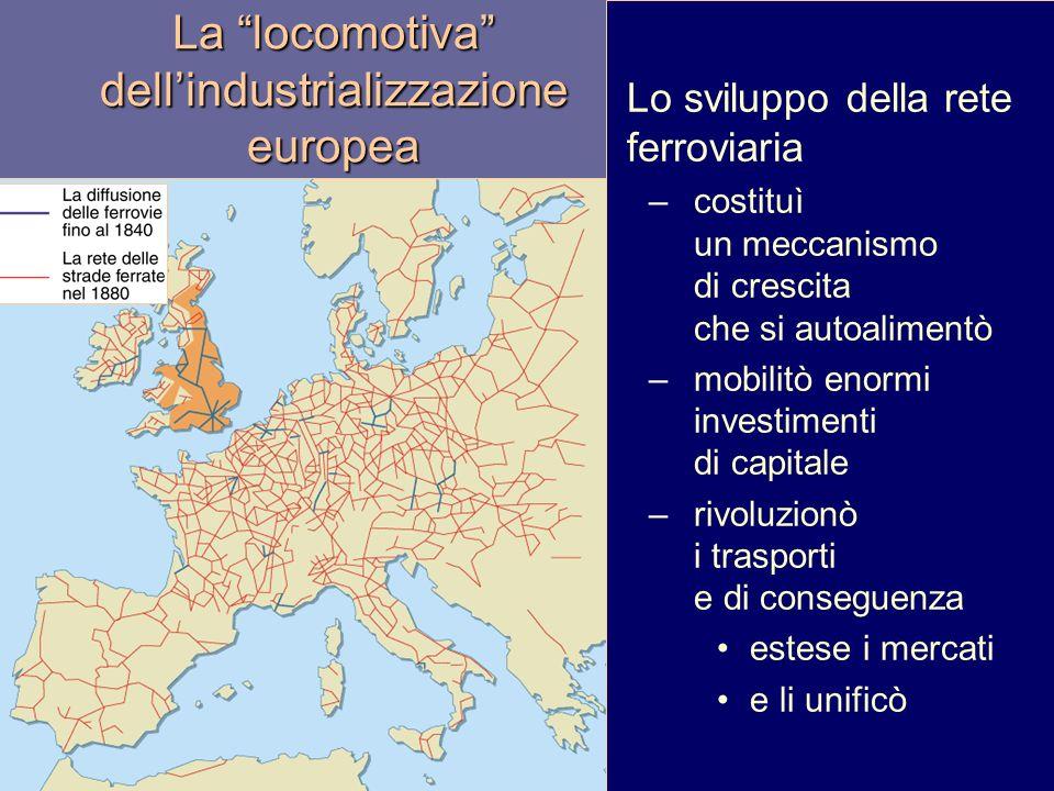 La locomotiva dell'industrializzazione europea