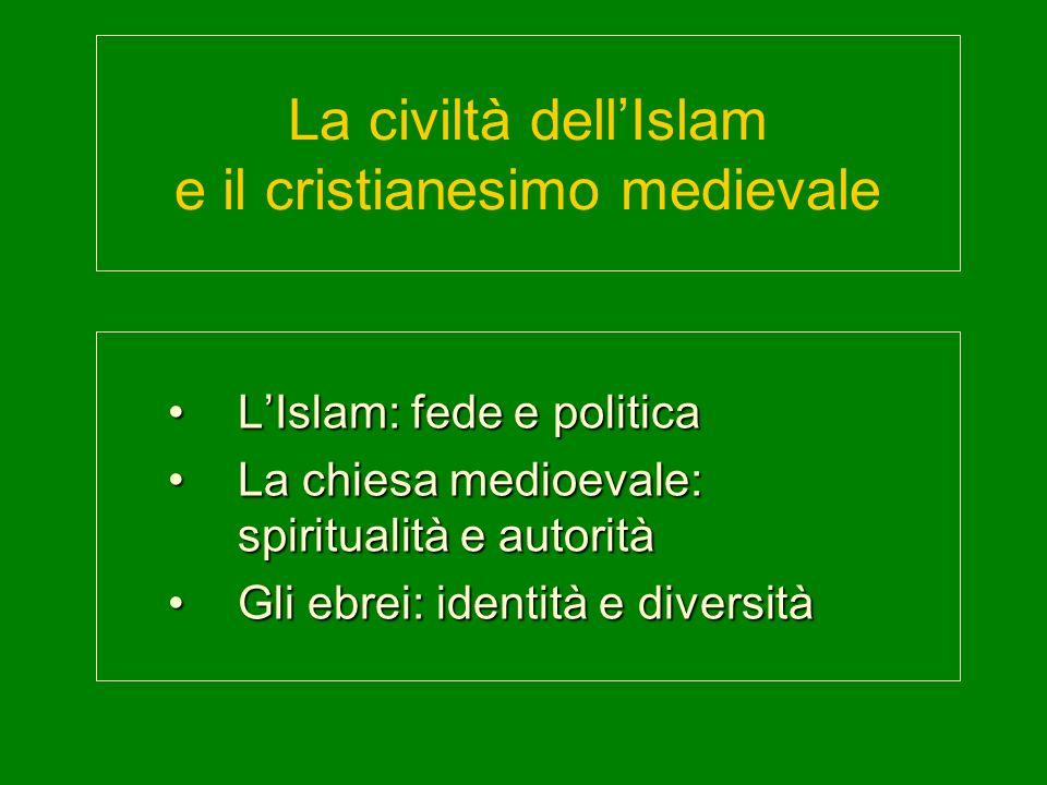 La civiltà dell'Islam e il cristianesimo medievale