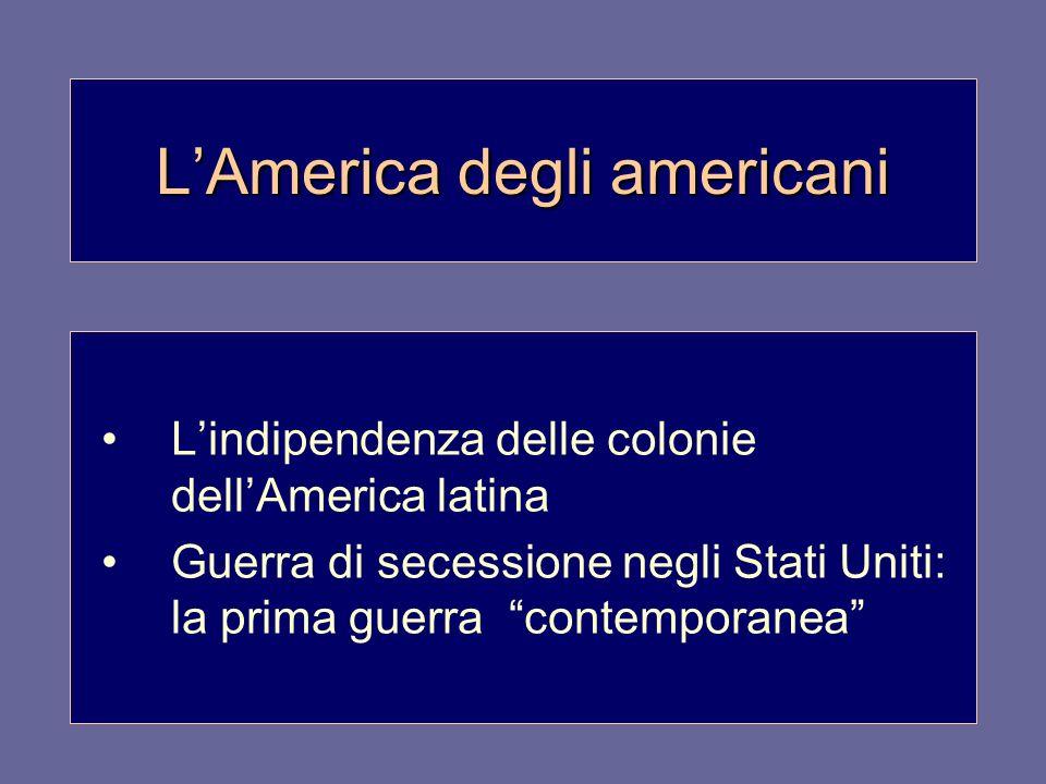 L'America degli americani