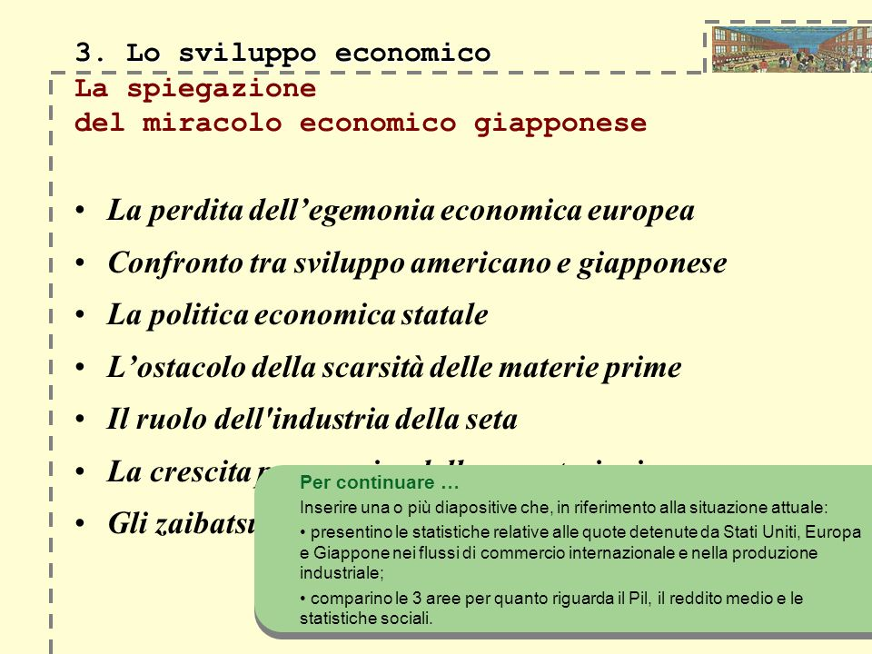 La perdita dell'egemonia economica europea