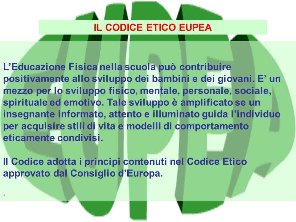 IL CODICE ETICO EUPEA