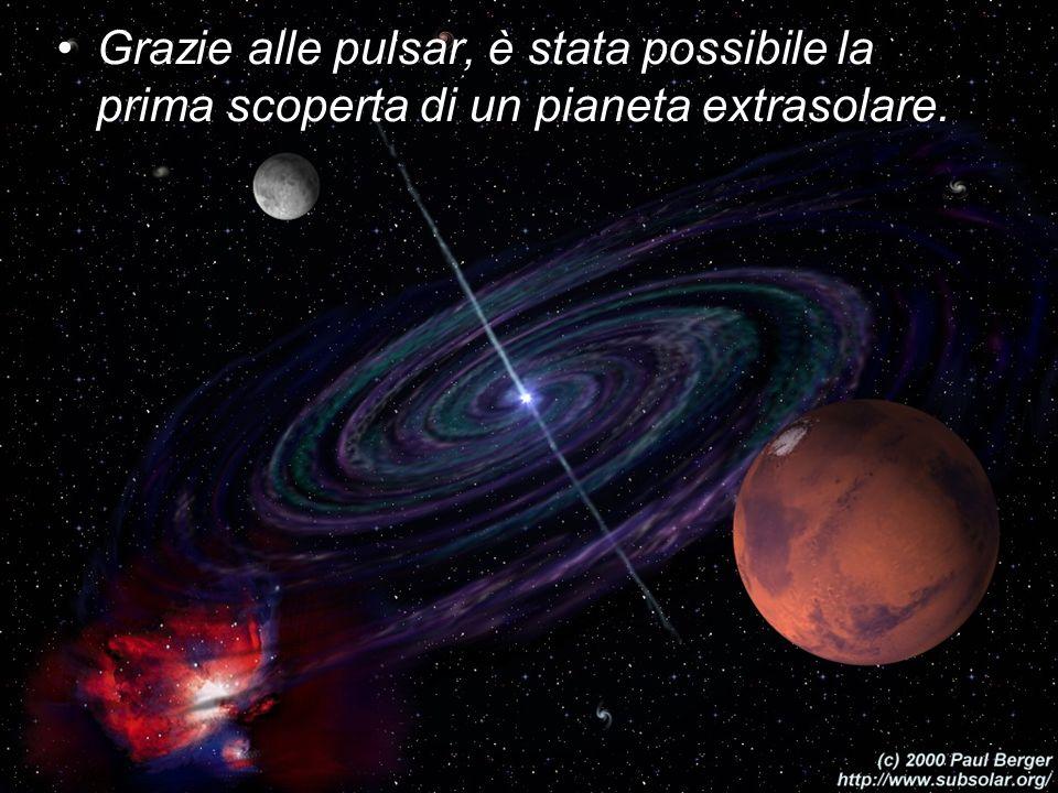 Grazie alle pulsar, è stata possibile la prima scoperta di un pianeta extrasolare.