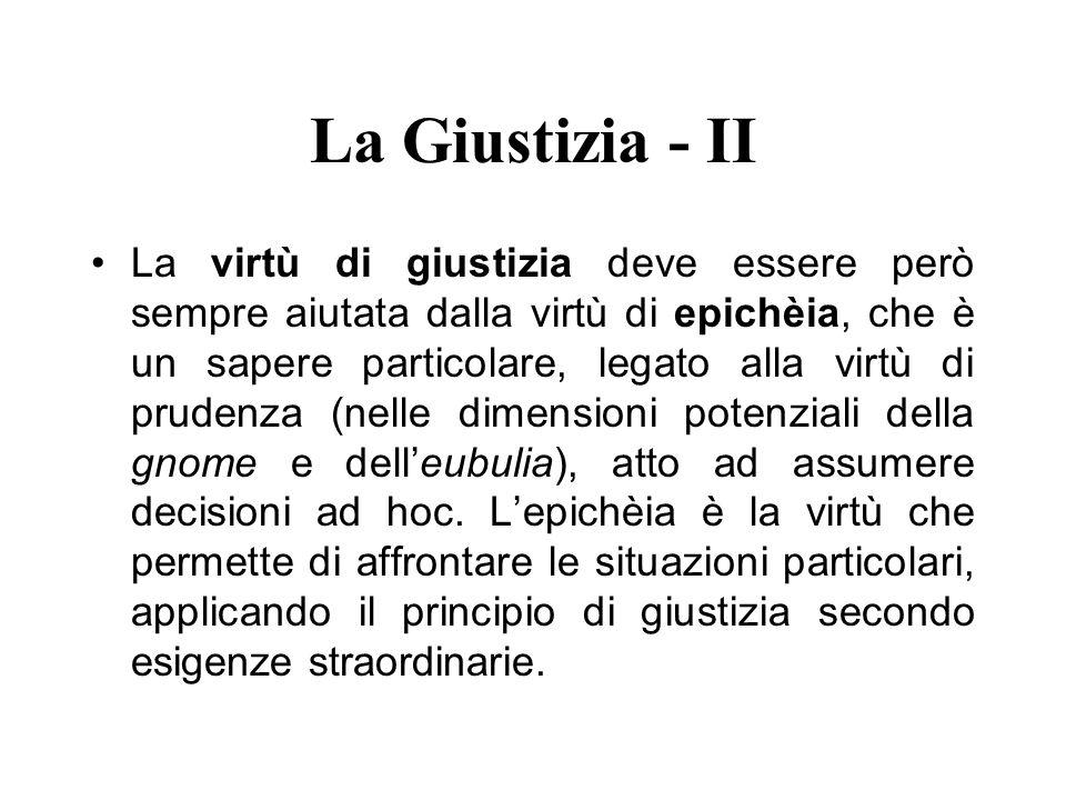 La Giustizia - II