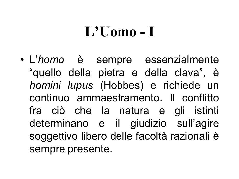 L'Uomo - I