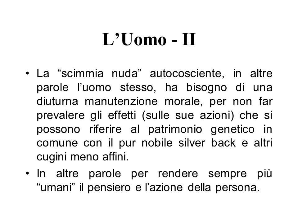 L'Uomo - II
