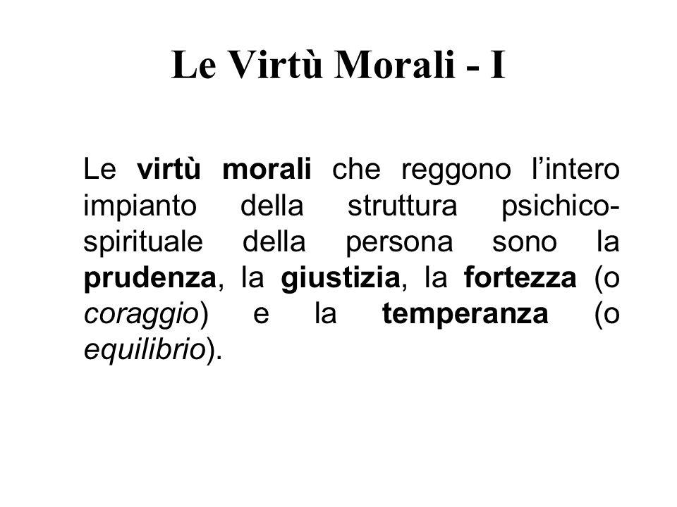 Le Virtù Morali - I