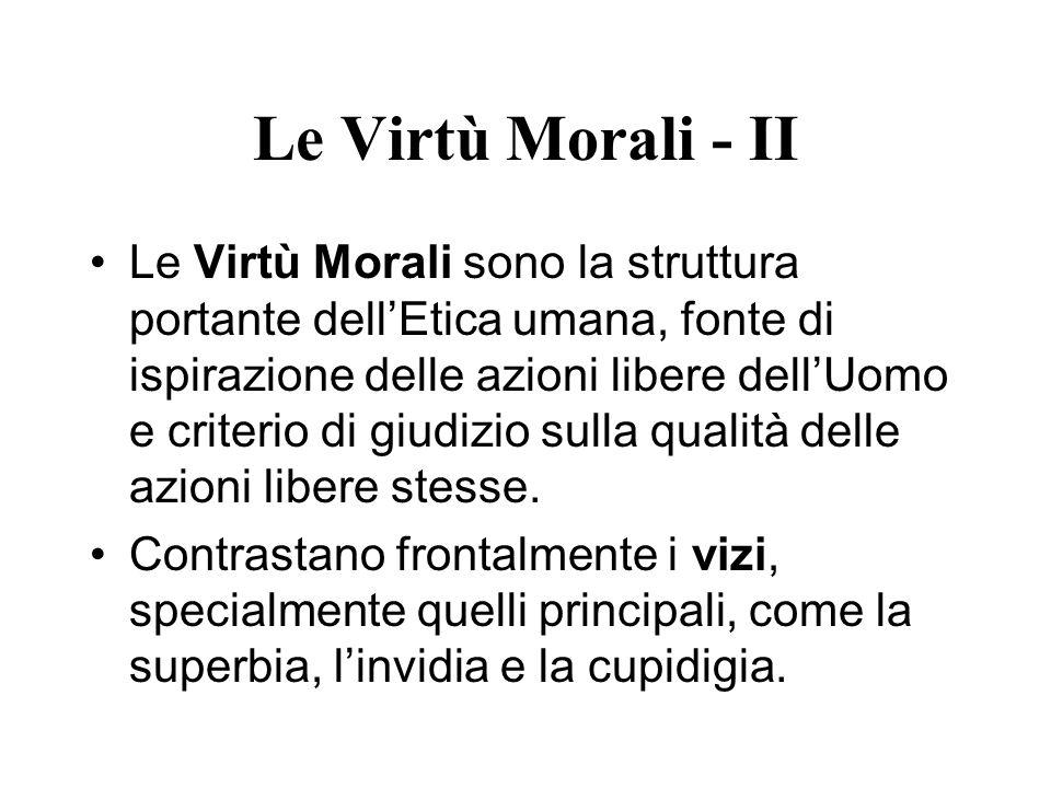 Le Virtù Morali - II
