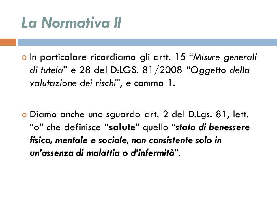 La Normativa II