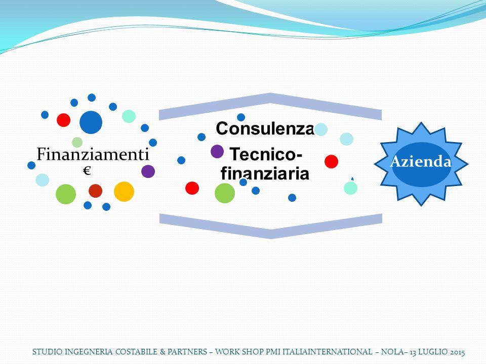 Consulenza Tecnico-finanziaria