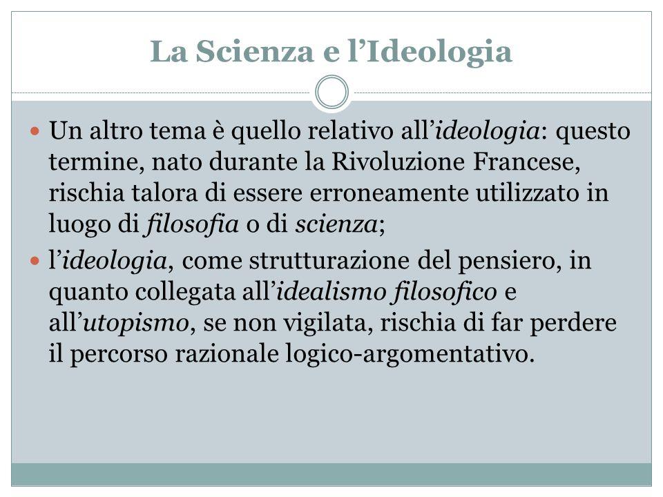 La Scienza e l'Ideologia