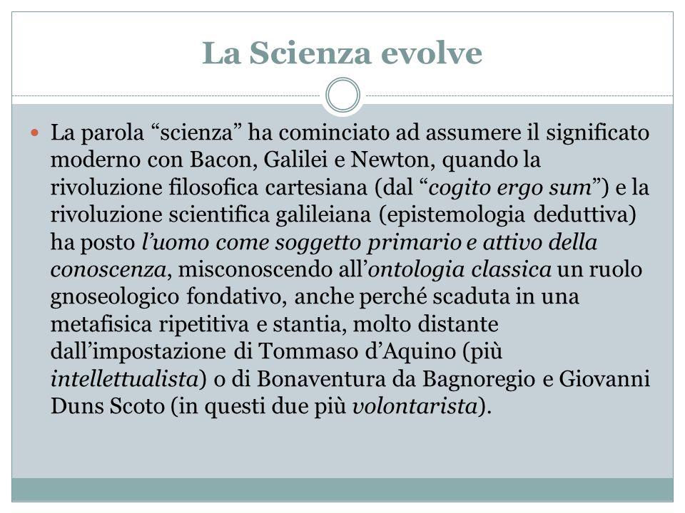 La Scienza evolve