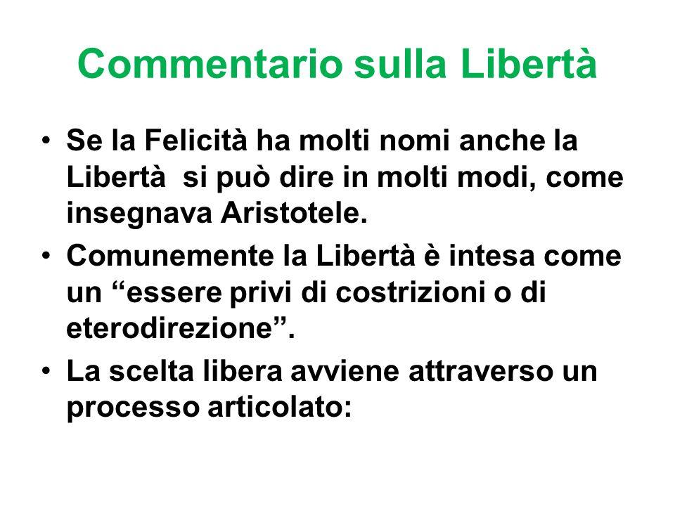 Commentario sulla Libertà
