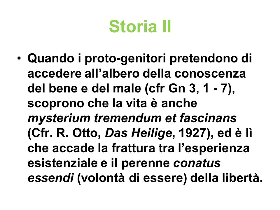 Storia II