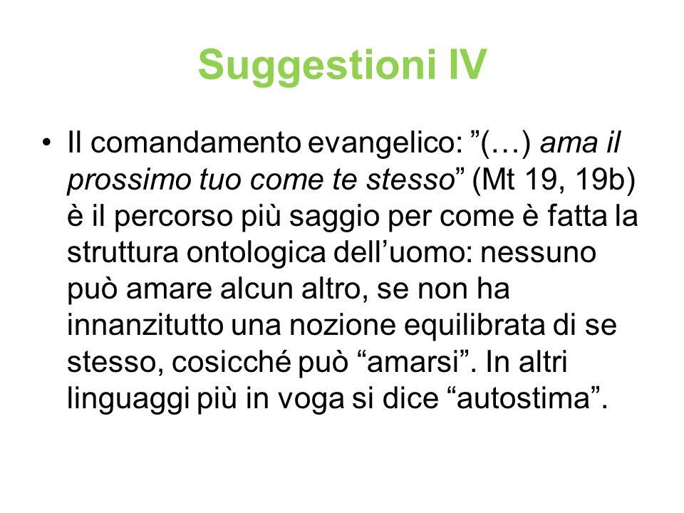 Suggestioni IV