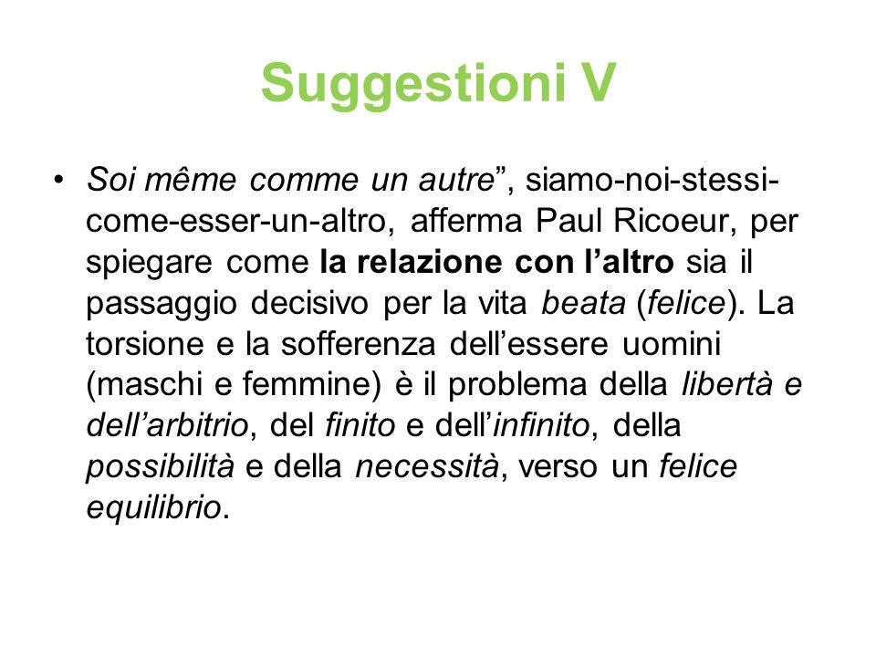 Suggestioni V
