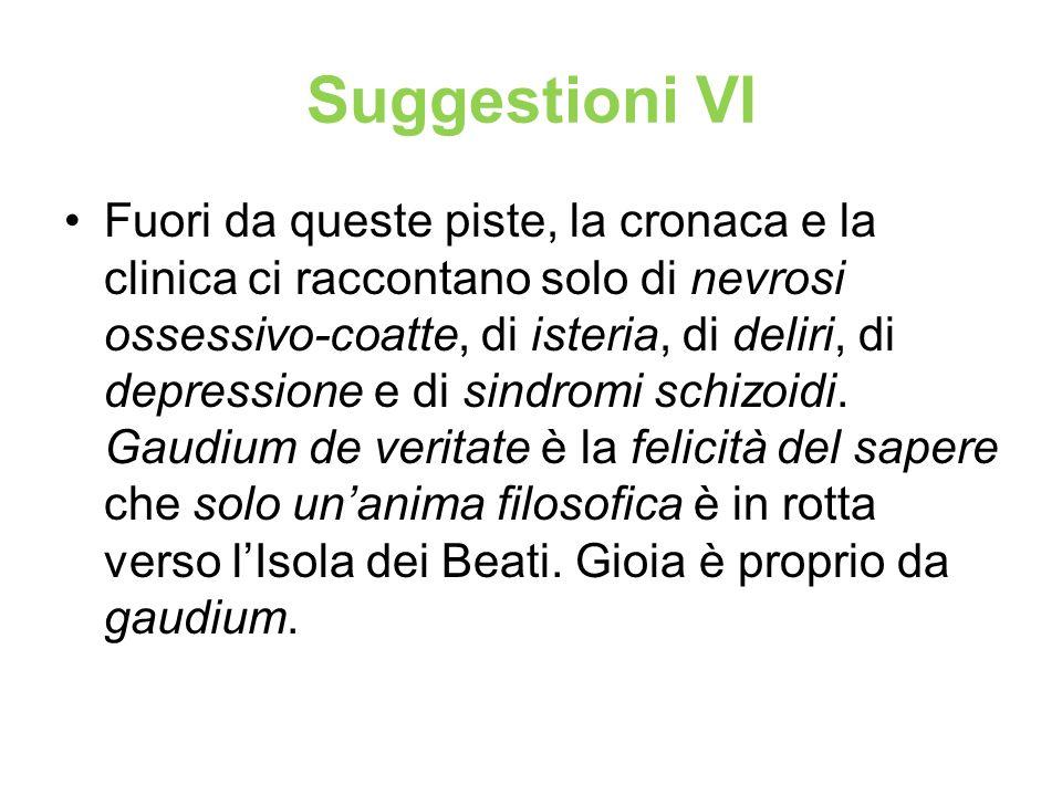 Suggestioni VI