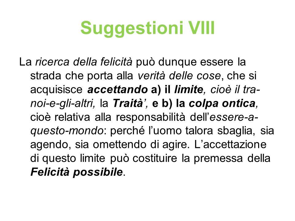 Suggestioni VIII