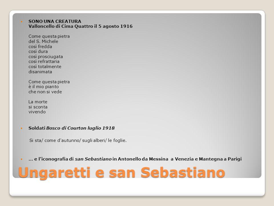 Ungaretti e san Sebastiano