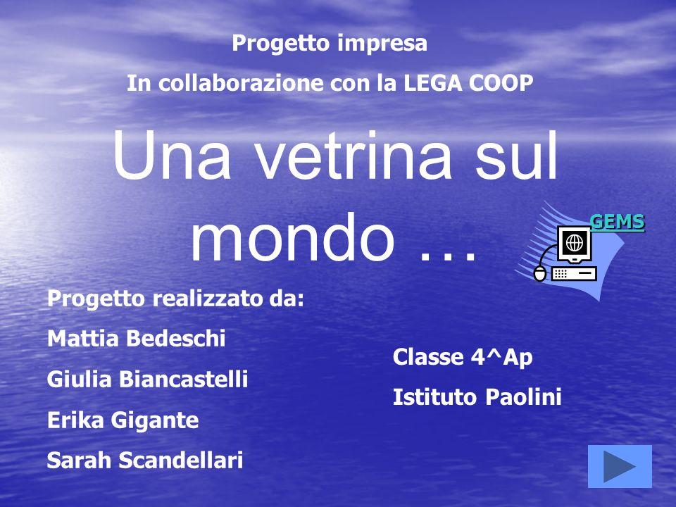 In collaborazione con la LEGA COOP