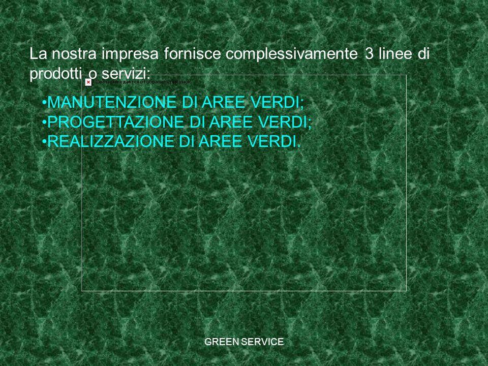 MANUTENZIONE DI AREE VERDI; PROGETTAZIONE DI AREE VERDI;