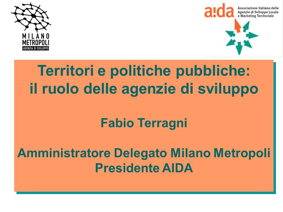 Territori e politiche pubbliche: il ruolo delle agenzie di sviluppo