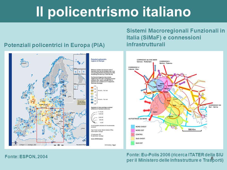 Il policentrismo italiano