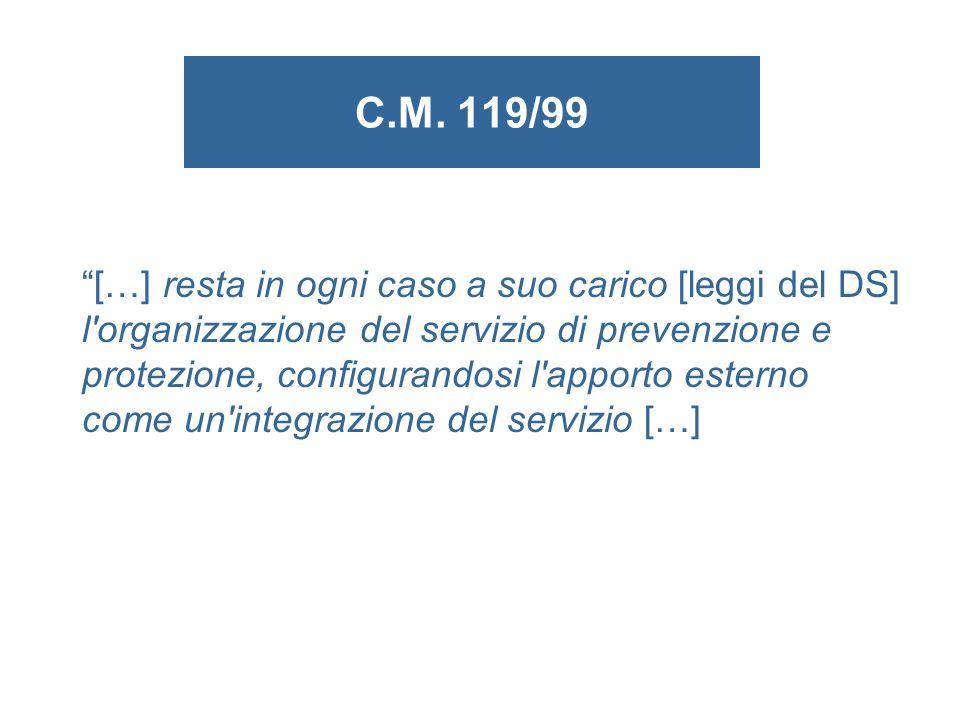 C.M. 119/99