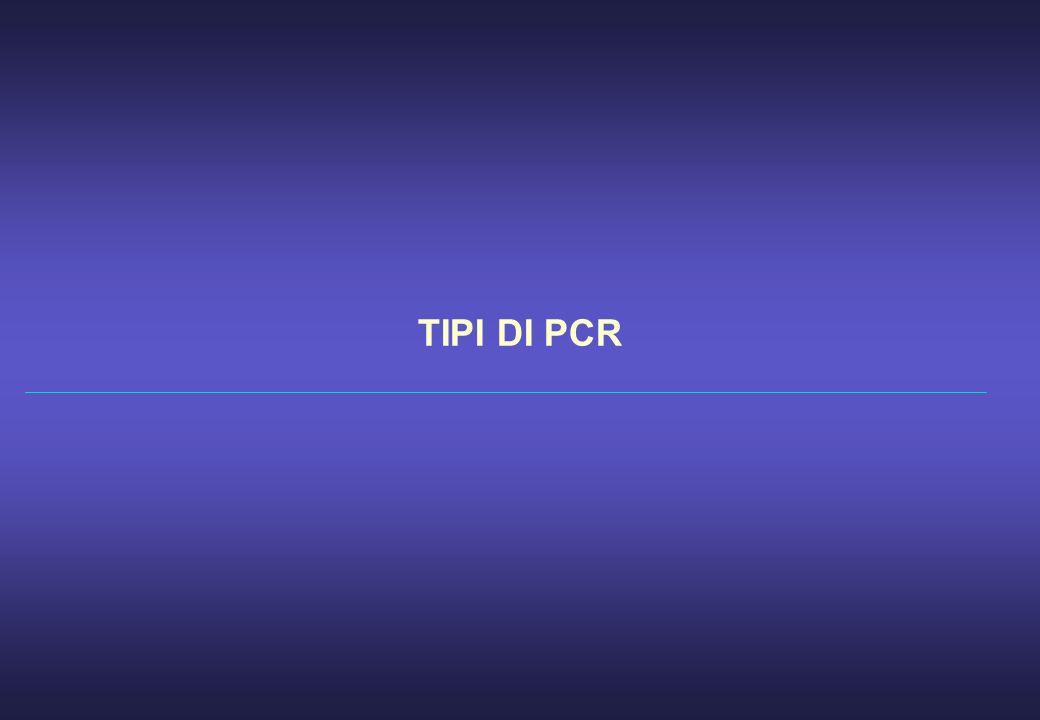 TIPI DI PCR