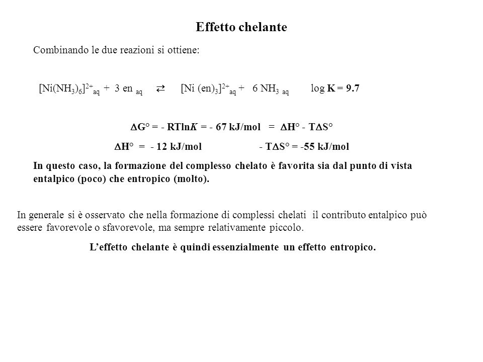 H° = - 12 kJ/mol - TS° = -55 kJ/mol