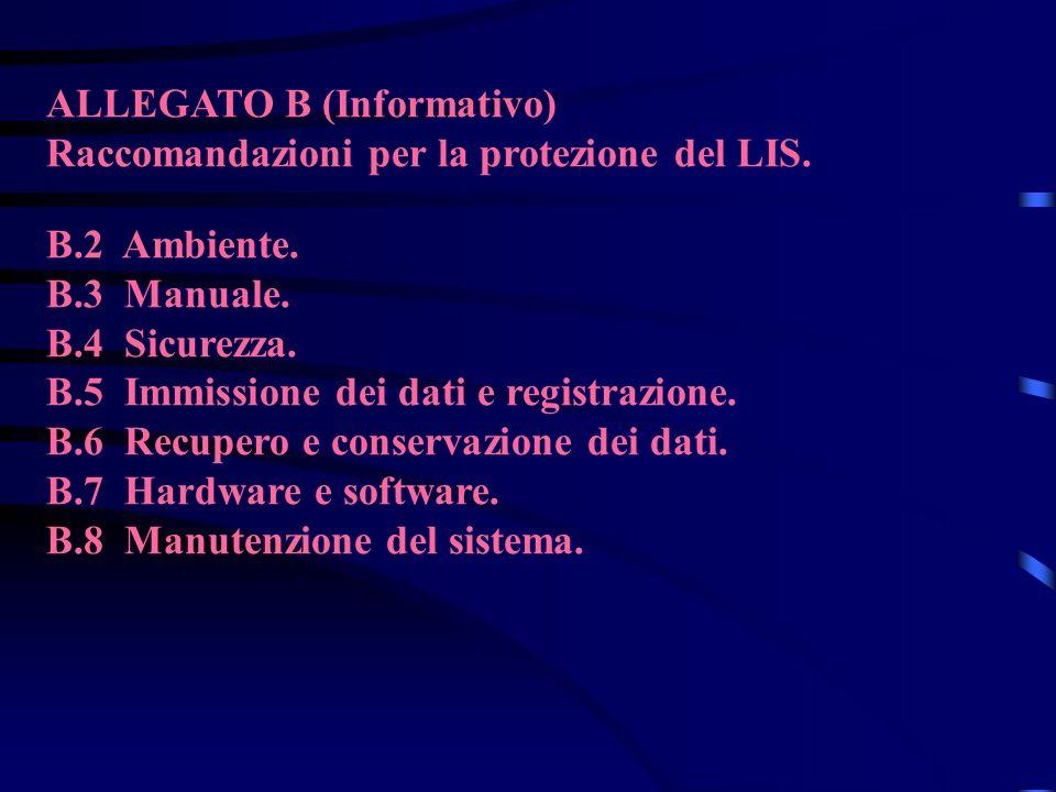 ALLEGATO B (Informativo)
