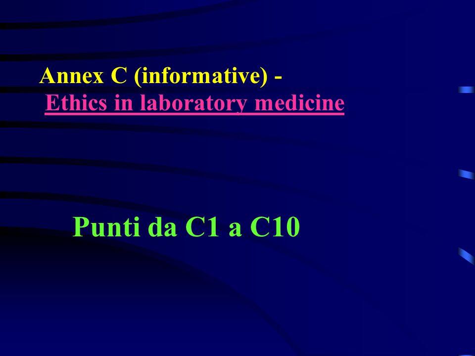 Punti da C1 a C10 Annex C (informative) -