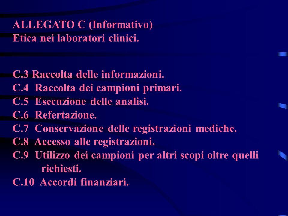 ALLEGATO C (Informativo)