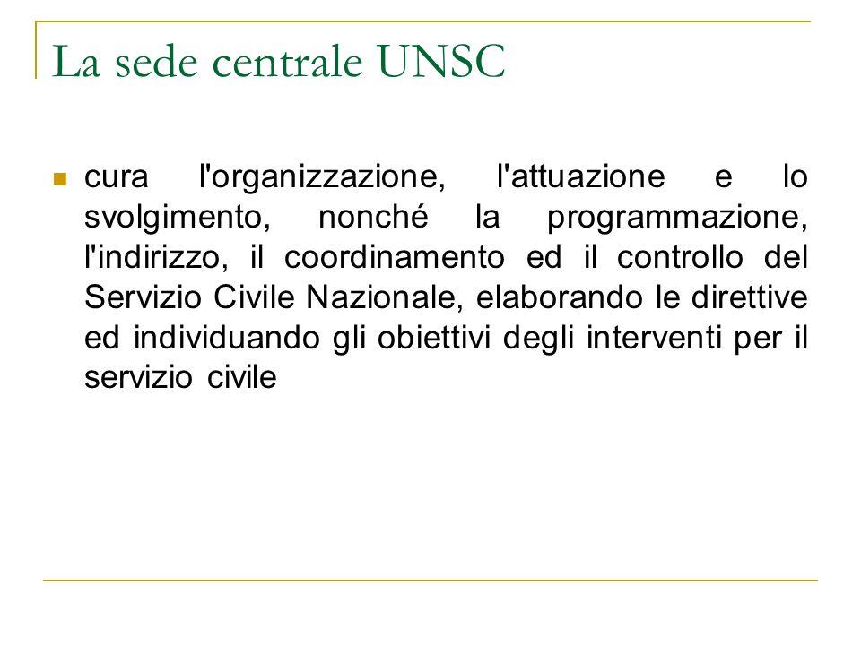La sede centrale UNSC