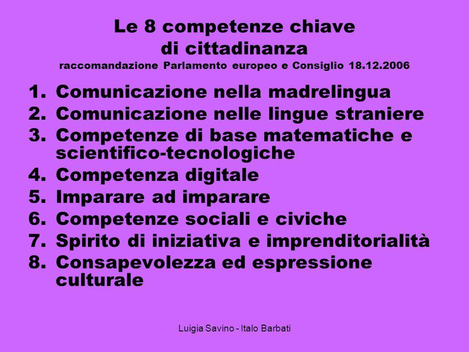 Luigia Savino - Italo Barbati
