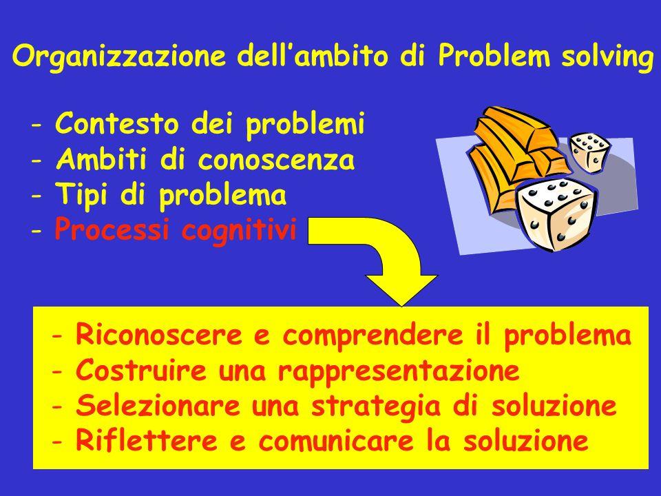 Organizzazione dell'ambito di Problem solving