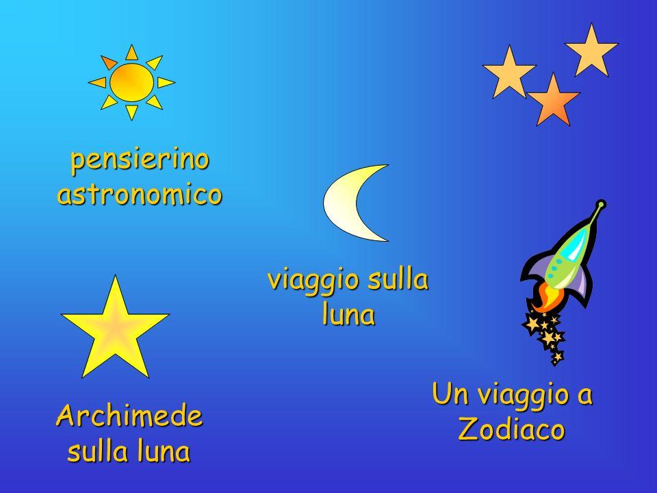 pensierino astronomico