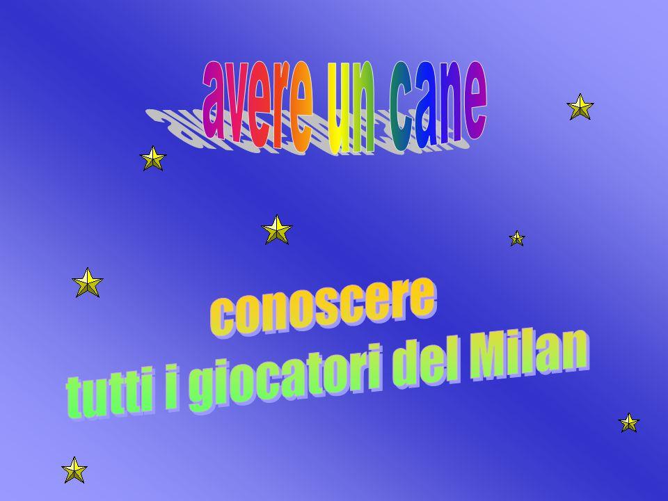 tutti i giocatori del Milan