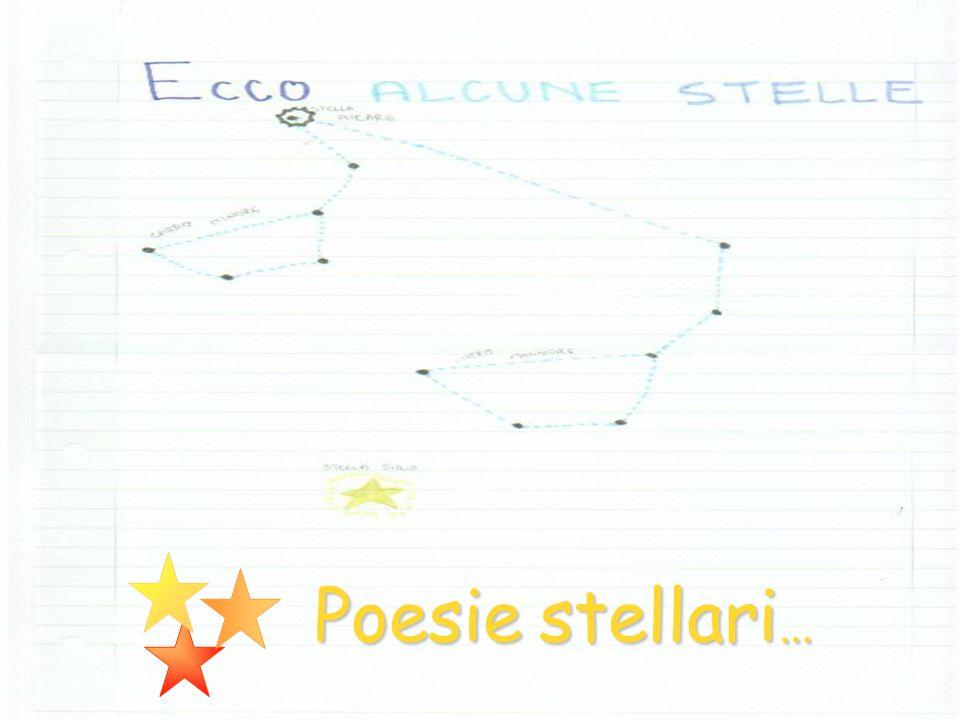 Poesie stellari…