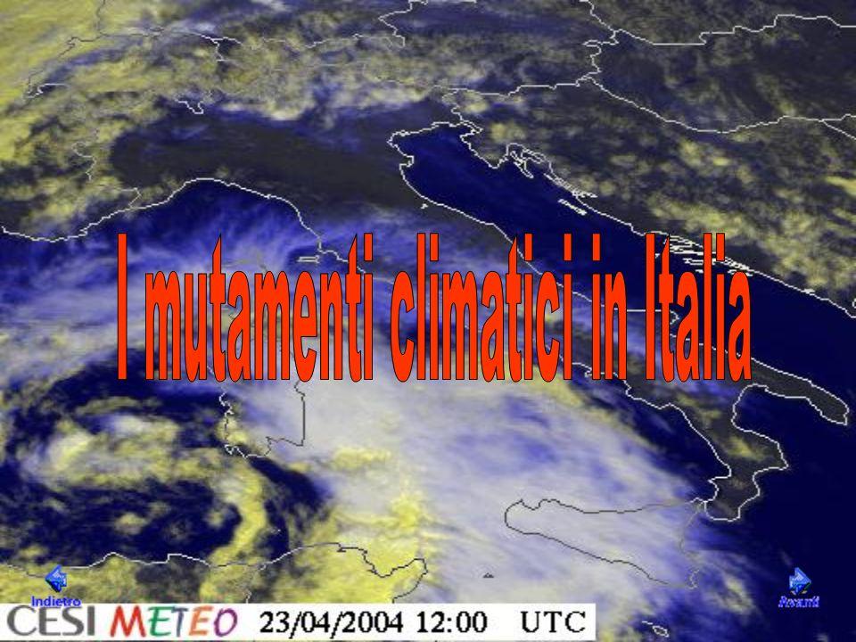 I mutamenti climatici in Italia