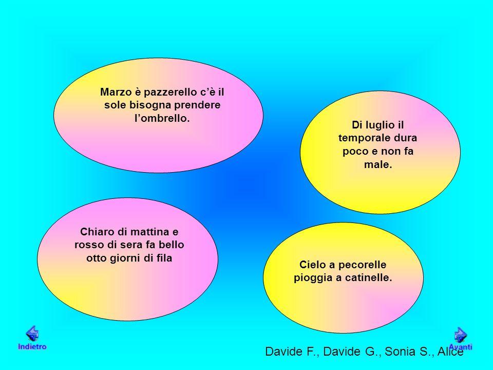 Davide F., Davide G., Sonia S., Alice