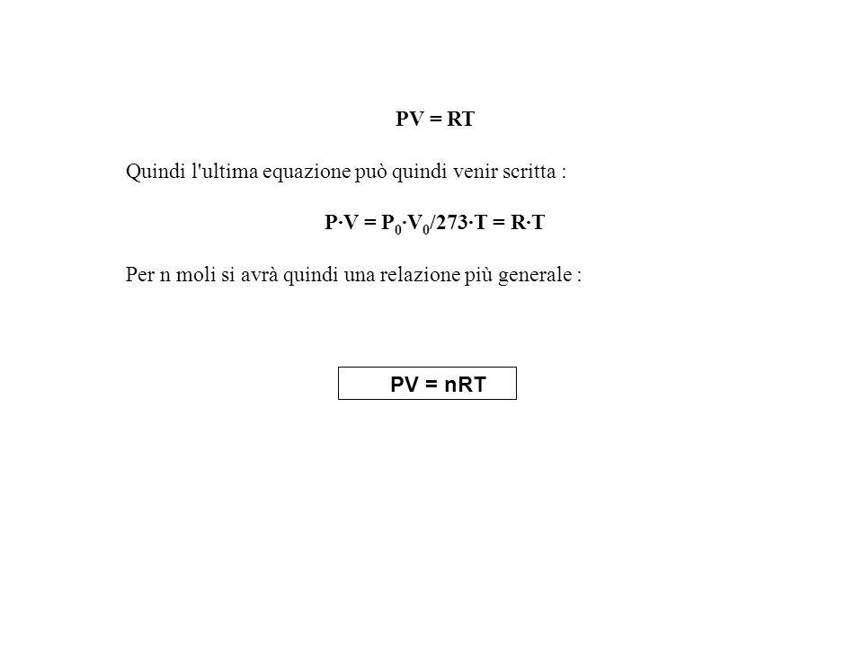 Quindi l ultima equazione può quindi venir scritta :