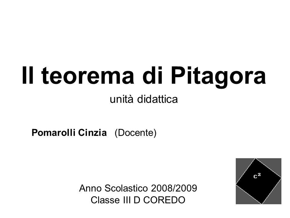Anno Scolastico 2008/2009 Classe III D COREDO