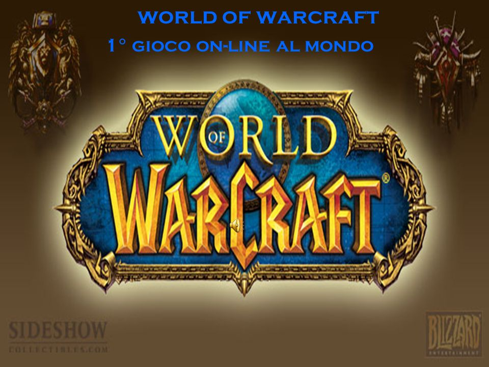 world of warcraft 1° gioco on-line al mondo