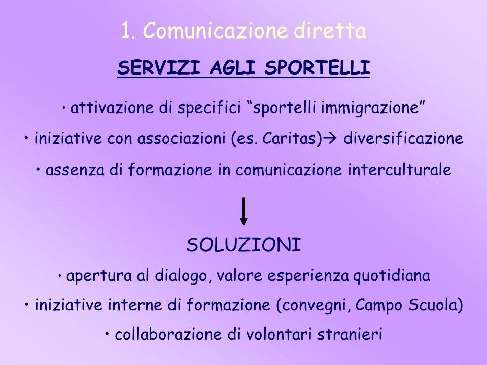 1. Comunicazione diretta