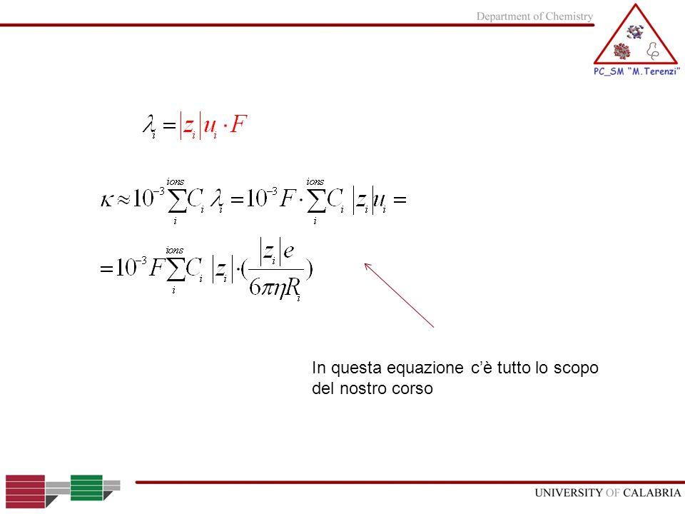 In questa equazione c'è tutto lo scopo