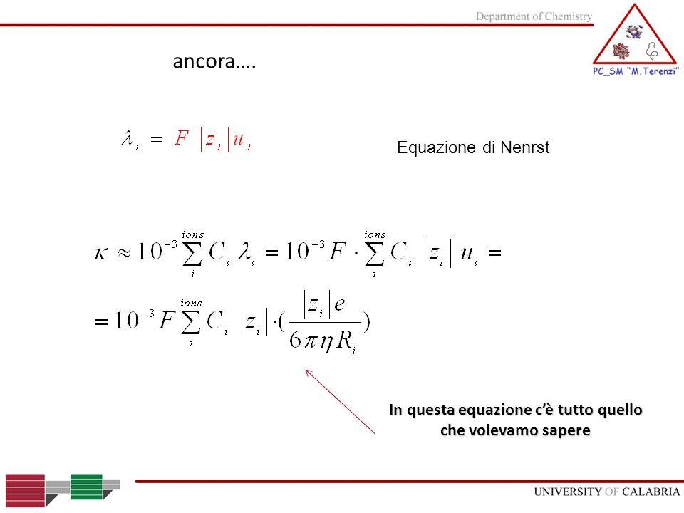 In questa equazione c'è tutto quello