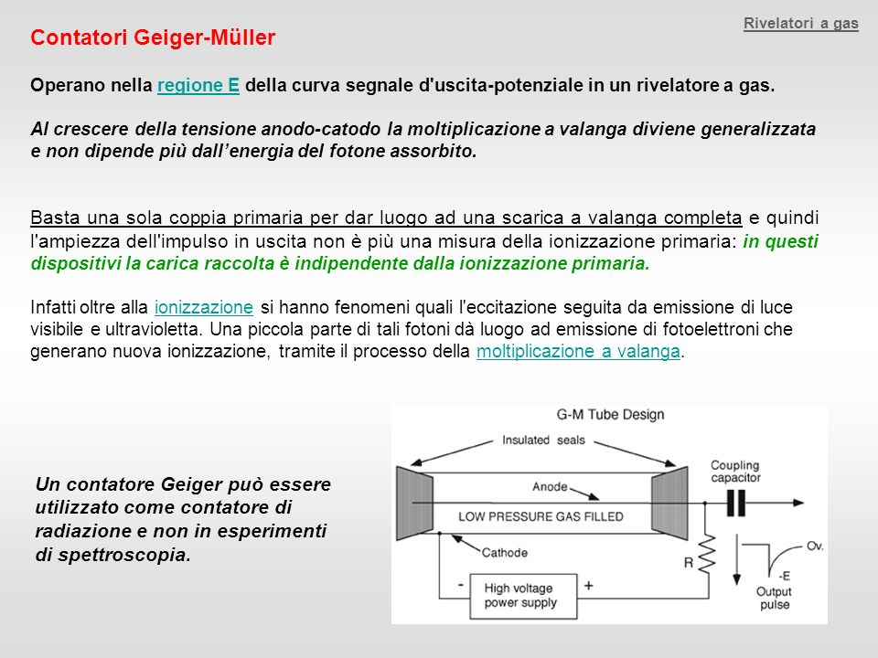 Contatori Geiger-Müller